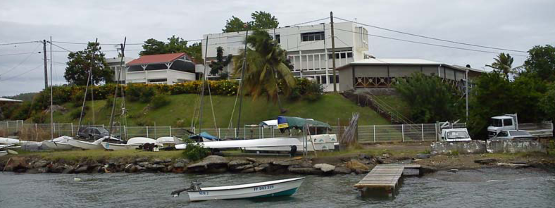 La station de la Martinique