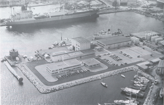 The IFREMER Mediterranean Centre in 1981