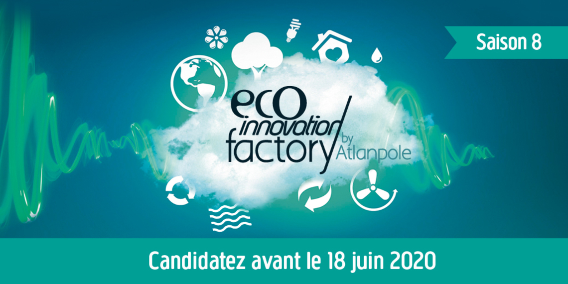 appel candidature saison 8 Eco-innovation factory