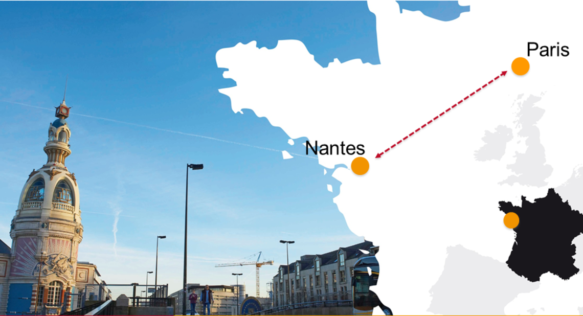 Nantes, western capital of France
