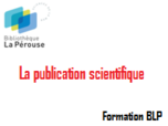 Formation Publication Scientifique