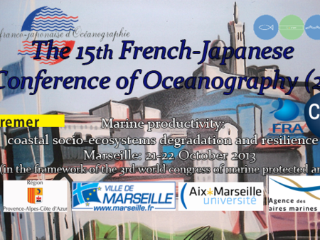 French-Japanese congress on Marine Protected Areas in Marseille, France